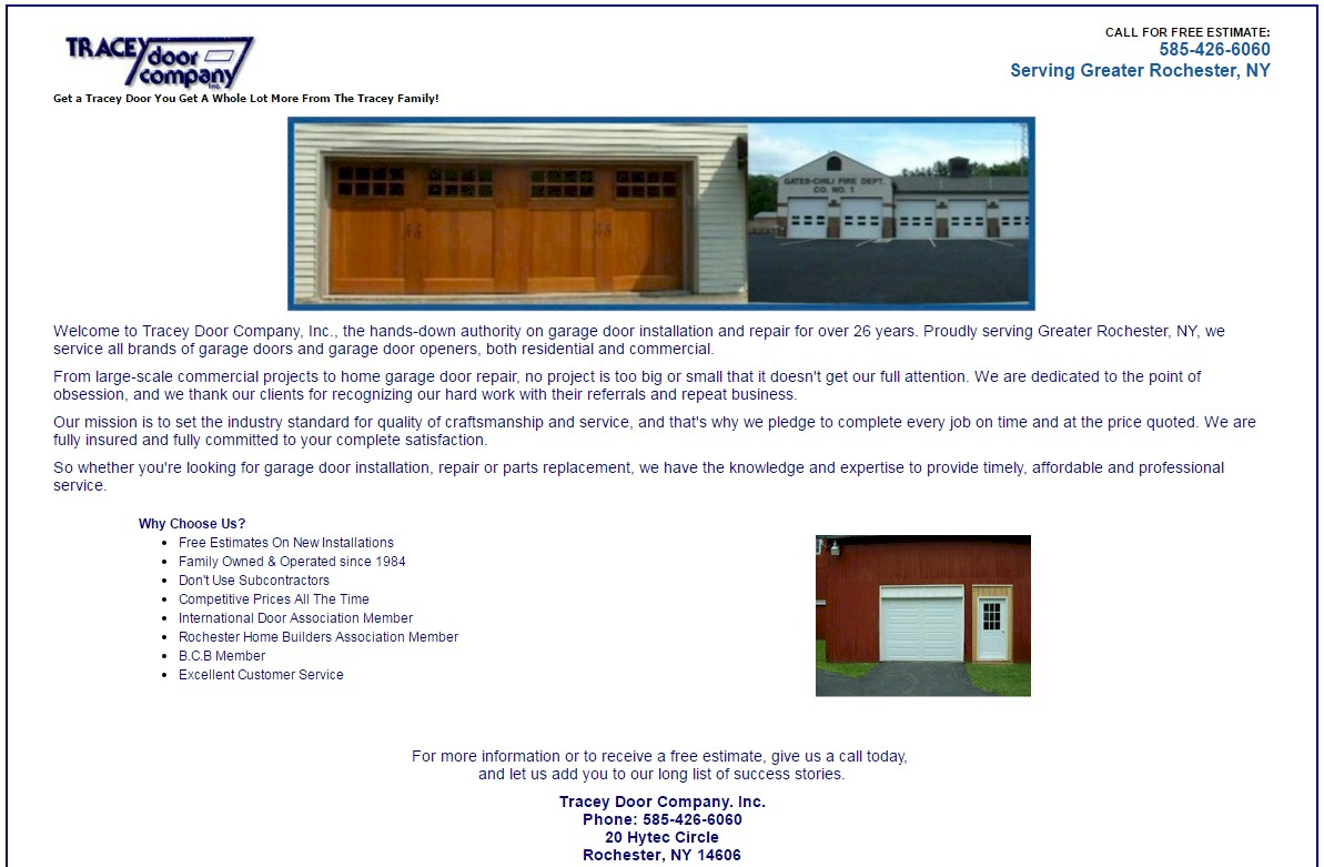 We Invite You To Visit Our Website To View Product Lines For Garage Doors, Garage  Door Openers And Other Fine Products For Your Residential Or Commercial ...